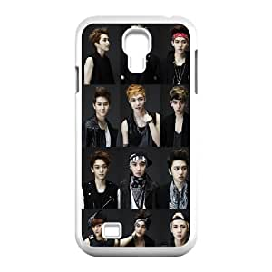South Korea band EXO Poster Hard Plastic phone Case Cover+Free keys stand For SamSung Galaxy S4 Case XFZ435125