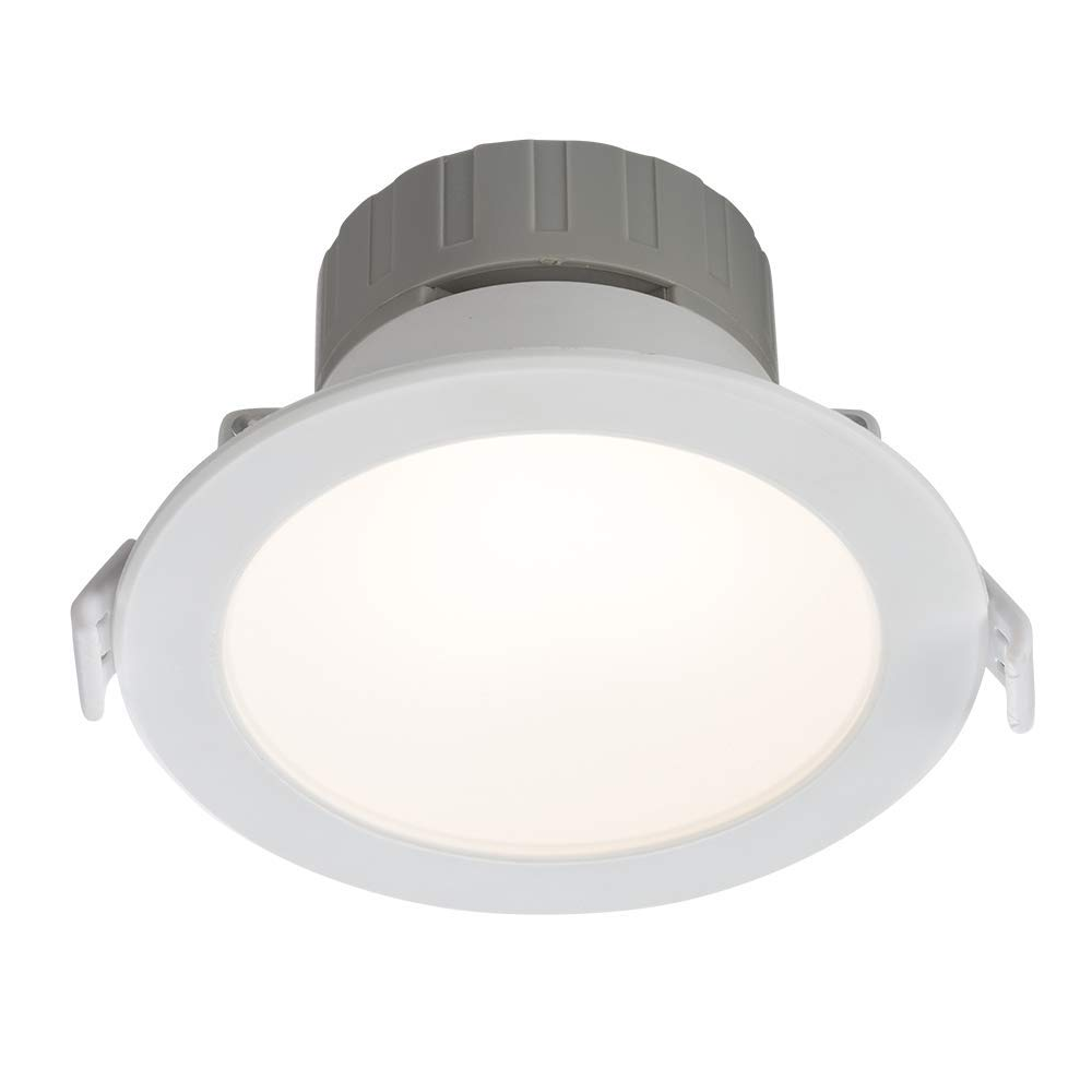 LED CCT 6in1 Downlight 9W 230V IP44 Slim Panel Einbauleuchte Einbaustrahler