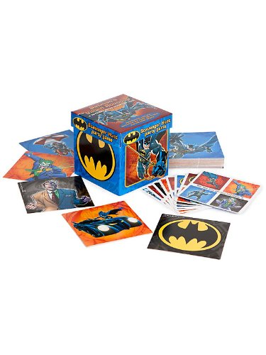 Hallmark 222576 Batman Heroes and Villains Scavenger Hunt Party Game