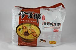 JML Instant Noodle Chicken & Mushroom Flavor-5 small bags