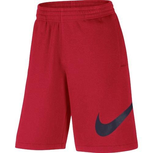 Nike Men's Exploded Swoosh Club Short (Red Medium 01, Small)