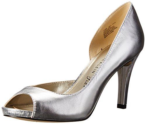 AK Octavie Klein Pump Anne Leather Women's D'Orsay Silver 4q6nt5wH