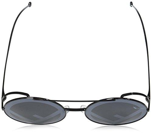Fendi-FF0285S-807-Black-FF0285S-Round-Sunglasses-Lens-Category-3-Lens-Mirrore