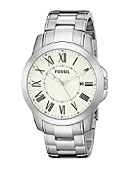 Fossil FS4734 Mens Grant Wrist Watches