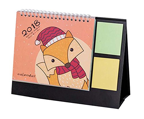 2017 2018 Beautiful Calendar Creative Office Supplies  Orange