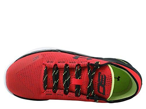 Zapatillas De Baloncesto Under Armour Hombres Curry 2 Low Red / Black