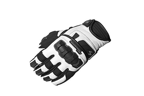 ScorpionExo Men's Klaw II Gloves(White, X-Large), 1 Pack