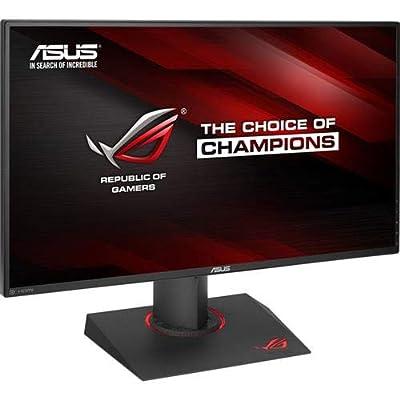 "ASUS ROG PG279Q 27"" WQHD 1440p IPS 165Hz DisplayPort Adjustable Ergonomic EyeCare G-SYNC Gaming Monitor"