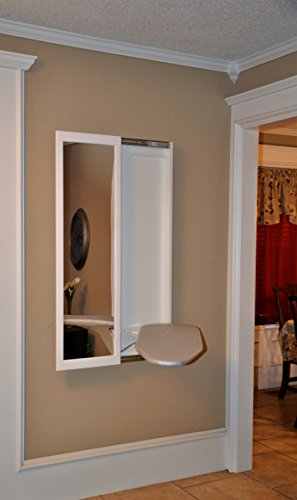 mirror and ironing board - 2