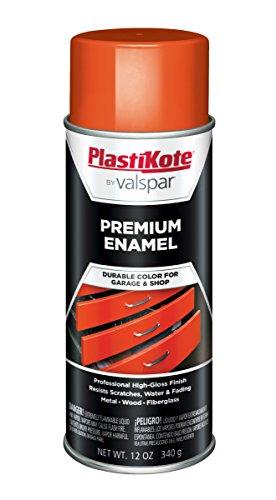 (PlastiKote T-31 General Purpose Bright Orange Premium Enamel - 12 Oz. )