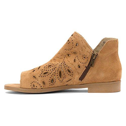 Coolway Women's Nelia Boots Cognac cheap sale 100% authentic Aeykj