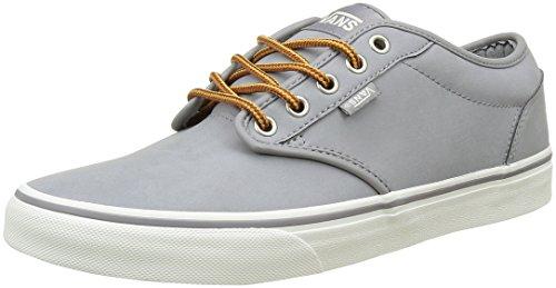 Fourgons Atwood, Herren Skateboardschuhe Grau ((cuir) Gris / Guimauve)