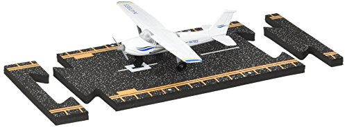 Hot Wings Cessna 172 Jet with Connectible Runway (Airplane Model For Teaching)