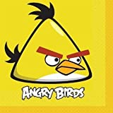 Angry Birds Lunch Napkins Party Accessory