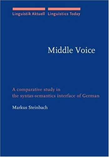 Middle Voice: A comparative study in the syntax-semantics interface of German (Linguistik Aktuell/Linguistics Today) ebook