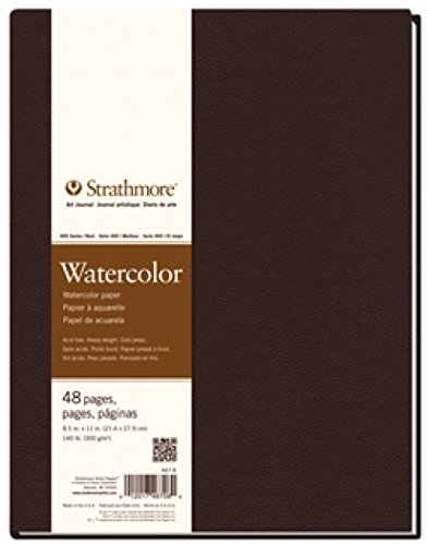 Strathmore 400 Series Hardbound Watercolor Art Journal, 8.5