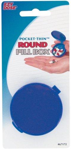 Ezy Dose Pocket Thin Round Pill Box