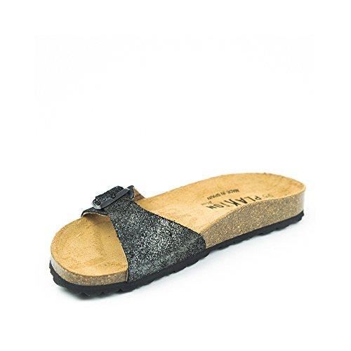 PLAKTON Women's Clogs & Mules Black nPPH4j