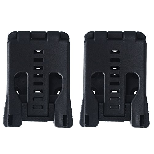 Tebery Tactical Tek-Lok Holster Attachment with Hardware, Black - 2 ()