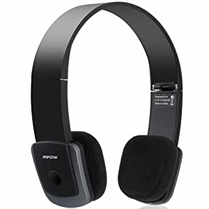 Mpow Bluetooth 4.0 Stereo Foldable Headphones Headset with AAC AptX - Supports Wireless Music Streaming and Hands-Free calling for iPhone iPhone 6 / 6 Plus 5S 5C 5 4S, Galaxy S5 S4 Note 3 2 and other Cellphones