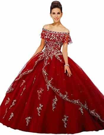 e00fb35a4a9 Fannydress Boho Off Shoulder Quinceanera Dresses 2019 Lace Applique Beads  Stones Layers Prom Dress 8th Grade