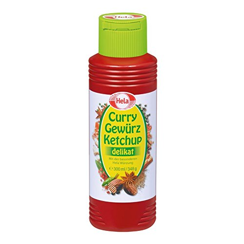 (Hela Curry Spice Ketchup delicate 300ml)