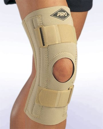 PRO Orthopedic #180I Dr M-I Inverted Patella Knee Brace (Black, XXX-Large) - Inverted Felt