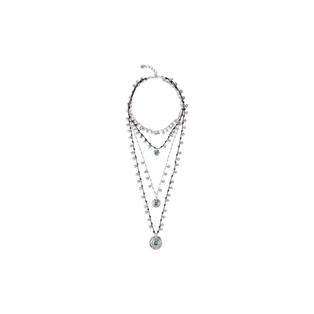 Uno de 50 AXAYACATL Necklace COL1352VRDMAR0U by Uno de 50