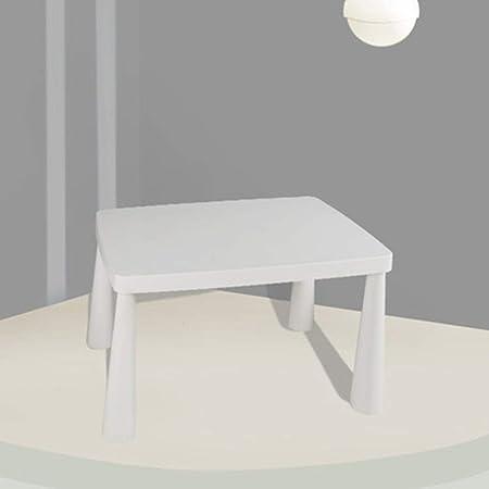 Ouuager-Home Mesa de Actividades para niños Actividad for niños Mesa de plástico de Mesa for niños pequeños, niños Tabla Muebles, Guía de diseño ergonómico for bebé a una Buena posición sentada: Amazon.es: