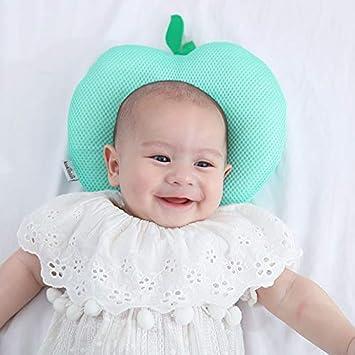 LAIYYI Almohada para beb/é Conformaci/ón de la almohada Almohada de espuma de memoria S/índrome del cabezal antiplano Prevenci/ón del s/índrome de Ultra Beb/é Almohada para la plagiocefalia
