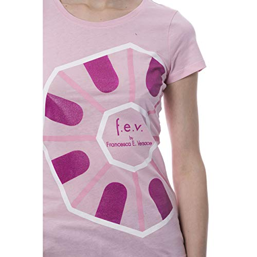 e F shirts T Versace Women By Francesca Pink v vB4wBrd
