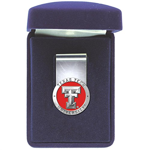 Heritage Pewter Texas Tech Red Raiders Money - Pewter Ncaa Clip Money