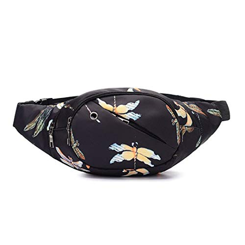 Toponly Waist Pack,Toponly Unisex Chest Bag Printed Outdoor Travel Crossbody Handy Hiking Sport Fanny Pack Waist Belt Zip Pouch Bicycle Cycling ()