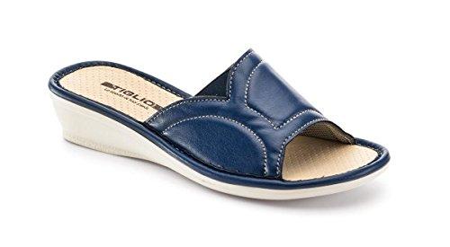 Pantofole 1625 Blu Tiglio 38 Donna AqFqx6