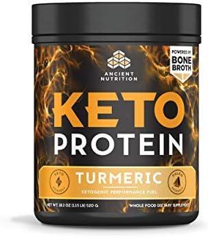 Ancient Nutrition Turmeric 17 Servings 15g 18.4 oz Keto Protein
