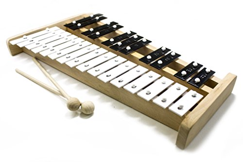 ProKussion Professional Wooden Soprano Glockenspiel Xylophone with Cover (X-Series)