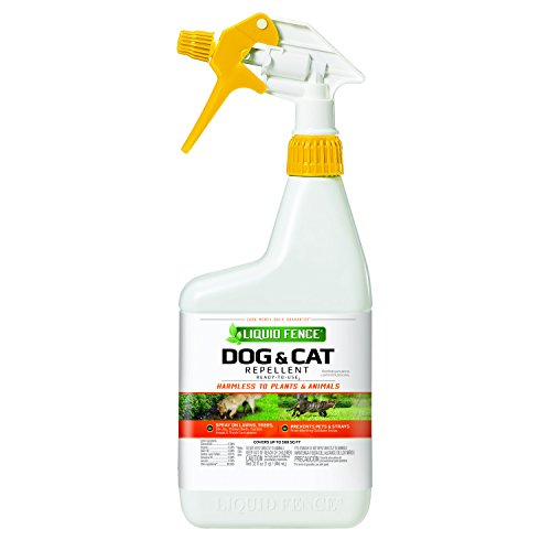Liquid Fence Dog & Cat Repellent, 32 oz., Ready-to-Use](Liquid Fence Cat Repellent)