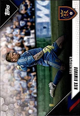 2019 Topps MLS #43 Nick Rimando Real Salt Lake Soccer Trading Card