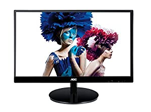 AOC i2269vw 22-Inch Class IPS Frameless/ Extra Slim LED Monitor, Full HD,250 cd/m2,5ms,50M:1 DCR,VGA/DVI, VESA