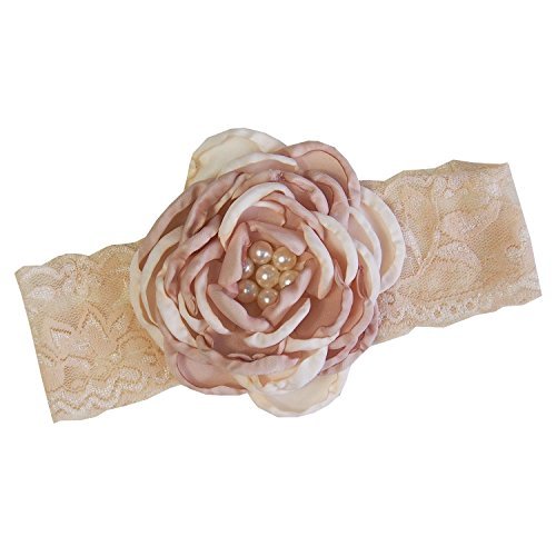 Baby Pearls Flower Ivory Headband product image