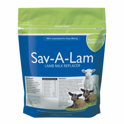 Sav-A-Lam Milk Products 01-7417-0217 Milk Replacer, 8-Lbs. - Quantity 4 by Sav-A-Lam