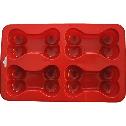 K9 Cakery Bone Silicone Cake Pan, 9 by 5.75-Inch