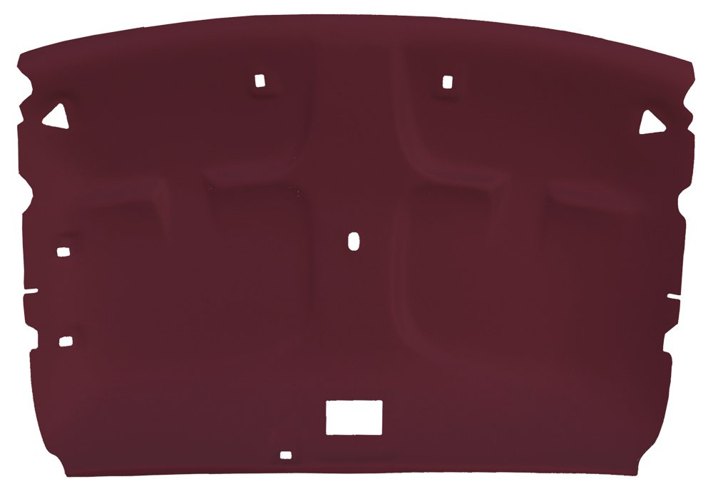 Acme AFH33-FB1998 ABS Plastic Headliner Covered With Ruby 1/4' Foambacked Cloth Acme Auto Headlining Co
