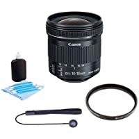 Canon EFS 10-18mm f/4.5-5.6 IS STM Lens Bundle. USA. Value Kit w/Acc #9519B002 Review Review Image