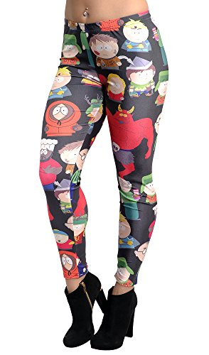 BadAssLeggings Women's South Park Leggings Medium]()