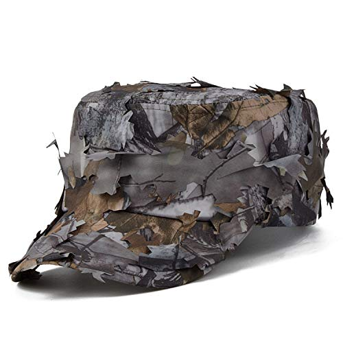 New Tactical Cap Men Jungle Bionic Camo Sniper Baseball Cap Quick Dry Snapback Hat