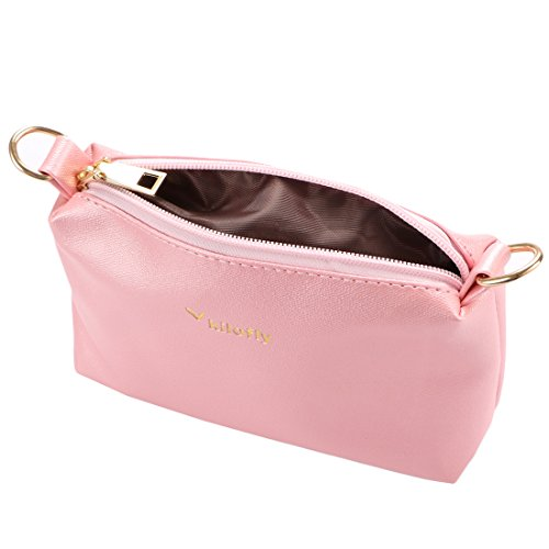 Pink Handbag in Women's 2 Kilofly Purse 1 Clear Shoulder Transparent Crossbody Bag 1wBcq