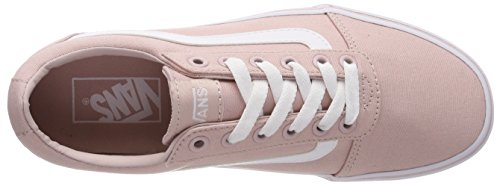 Sepia Basses Sneakers Ward Vans Femme Canvas Rose Oln canvas qwRxPT