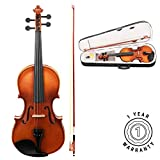 Stretton Payne Violin Outfit Full Size 4/4 Acoustic Student Violin with Case, Bow and Rosin