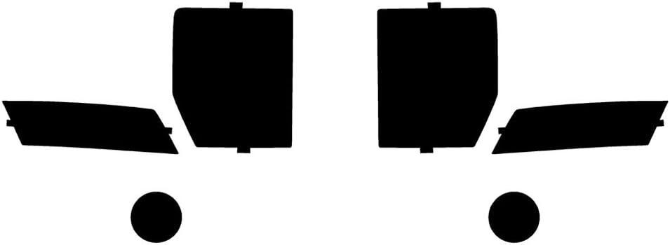Application Kit Rvinyl Rtint Headlight Tint Covers for BMW X6 2015-2019
